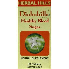 Herbal Hills - DIABOHILLS, 60 cap