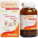 Health Aid - Children Multivitamins & Minerals Chewable, 30 tab