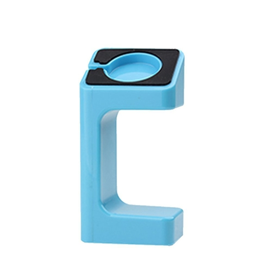 Plastic Stand Holder Mount for Apple Watch Blue