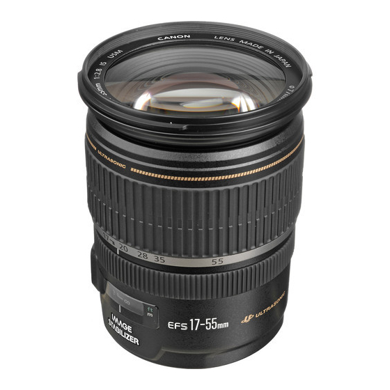 Canon EF-S 17-55mm F2.8 IS USM,  Black, 17-55mm