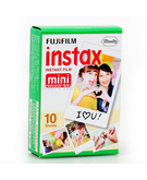 Fujifilm Instax Mini Film For Instax Mini 7, 7S, 8, 25, 50,  White