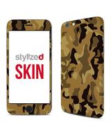 Stylizedd Premium Vinyl Skin Decal Body Wrap for Apple iPhone 6Plus - Camo Mini Desert