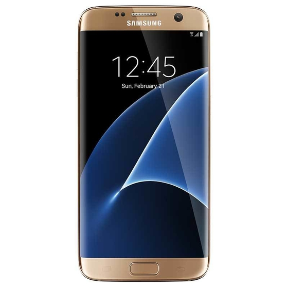 Samsung Galaxy S7 Edge Dual SIM,  Gold, 32 GB
