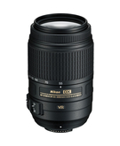 Nikon AF-S DX 55-300mm F/4.5-5.6G ED VR (5.5x),  Black, 55-300mm