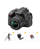 Nikon Bundle Offer D3300 AF-P DX NIKKOR 18-55MM Lens Kit+ Tripod+ Carry Case+ Ultra SD Card 16GB