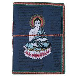 Craftsgallery Handmade Paper Diary With Buddha Print, 4  x 6