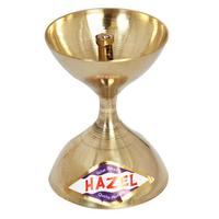 Hazel Brass Diya Oil Lamp Pooja Nanda Deep S7
