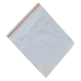 BEZAL 4 x 5 Inch 500 Pcs Zip Lock Plastic Bags Seal Self Pouch Storage Security Bag (16.51 x 19.05 Pack of 500)