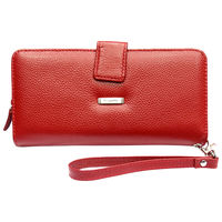Rhysetta M023 Ladies Wallet,  red