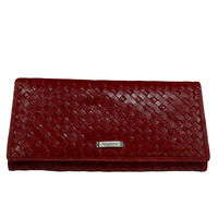 Rhysetta BL104 Ladies Wallet,  red