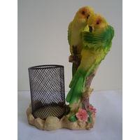 2 parrots pen stand