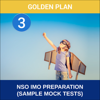 Class 3- NSO IMO Preparation ( Sample Mock Tests), platinum plan