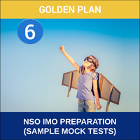 Class 6- NSO IMO Preparation ( Sample Mock Tests), gold plan
