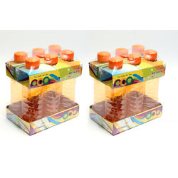 Petman Economy Water Bottle-Set Of 12 (1000Ml Each), orange