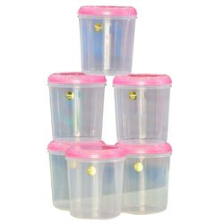 Chetan 6 Pcs Seal Fresh Kitchen Containers-3 Ltrs