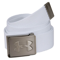 Under Armour Webbed Belt - White, free size,  white