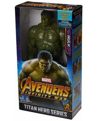 Avengers 12 Inch Titan Hero Series Hulk Action Figure, Age 4+