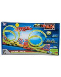 TENGLEADER Double Loop Track Racing Set