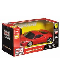 Maisto 1: 24 Ferrari 488 GTB Remote Control Car, Multi Color