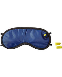Travel Blue Eye Mask And Ear Plug Set