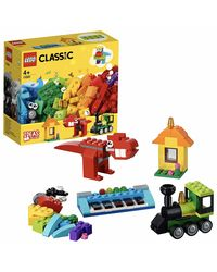 LEGO Classic Bricks and Ideas Building Blocks for Kids (123 Pcs) 11001