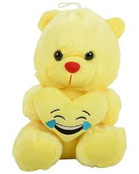 BAO DALI Stuffed Expression Teddy Soft Toy, Yellow
