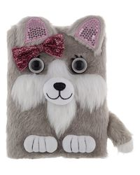 Bow Bow The PuPPy Plush Notebook, mix