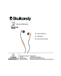 Skullcandy Jib Wired In-Earphone With Mic (Sunset/Black)