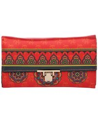 Wallets And Clutches: W06-122, multicolour