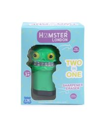 Hamster London Scented Sharpener & Eraser Monster