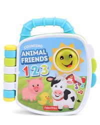 Fisherprice Laugh & Learning Counting Animal Friends Book, Age 6+