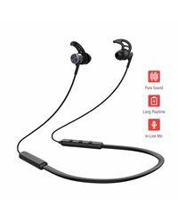 Pebble Spirit Loop - Bluetooth Neckband Earphones Black