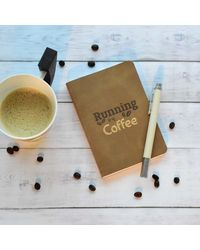 Fuel Of The Soul Notebook, beige