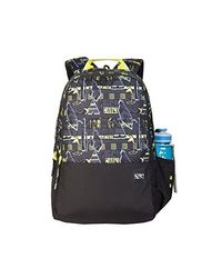 Wildcraft 29 Ltrs Black_ Ylw Casual Backpack (11651-Black_ Ylw), black