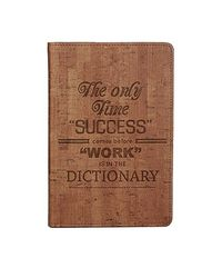 Doodle Success Story Light Executive Diary Notebook - A5, 80GSM, 200 Pages (Light Brown)