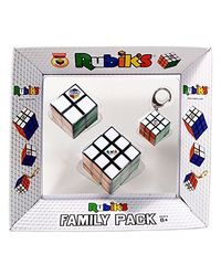 Rubik's Family with Key Chain, Multi Color
