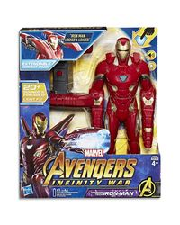 Avengers Mission Tech Iron Man Action Figure, Age 4+