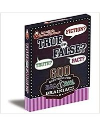 Professor Murphy'S Game Cards: True Or False?, multi