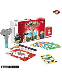 "OOBEDU"" WORLD OF ALPHABET"" AUGMENTED REALITY EDUCATIONAL FLASH CARD SET"