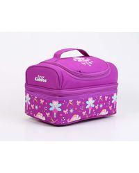 Dreamland Double Decker Lunch Bags (Purple)