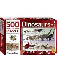 Dinosaurs 500 Piece Jigsaw Puzzle, multi