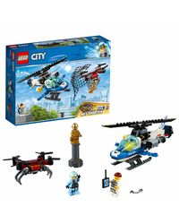 Lego City Sky Police Drone Chase Building Blocks, Age 5+