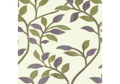 Romania Floral Curtain Fabric - 11, green, fabric