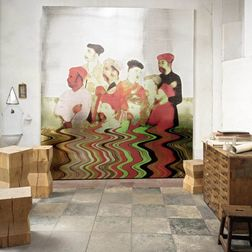 Elementto Mural Wallpapers Traditional Mural Design Wall Murals VP86301mural, multicolor