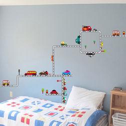 Kids Wall Stickers Design Carpooling WD007