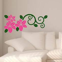 Wall Stickers Chipakk Curvy Flower 2