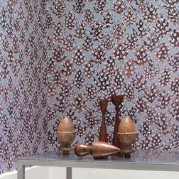 Elementto Wallpapers Damask Design Home Wallpapers For Walls, blue