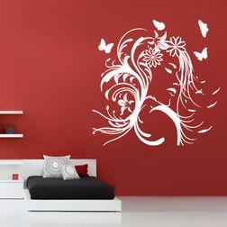 KakshyaaChitra Modern Face Wall Decal