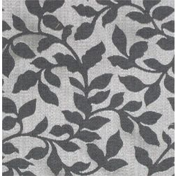 Constellation Floral Curtain Fabric - AL111, grey, fabric