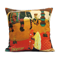 Mad(e) In India Jaipur Modern Cushion Covers, multi